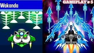Space Shooter Galaxy Attack Gameplay 5 - Wakanda Unlock