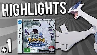 Pokemon Soul Silver Randomizer Nuzlocke - Highlights! | PART 1