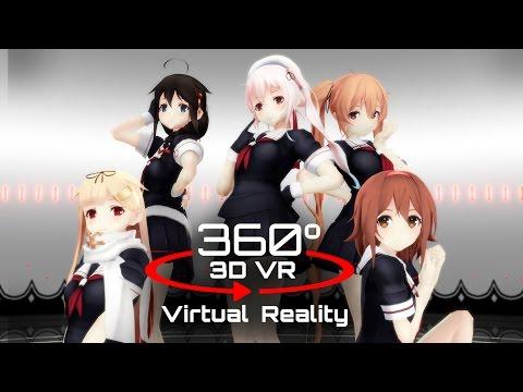 360 3D 4K | MMD ???????? ?VR????Ver