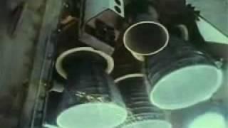 Space Shuttle ME Start (Slow Motion)