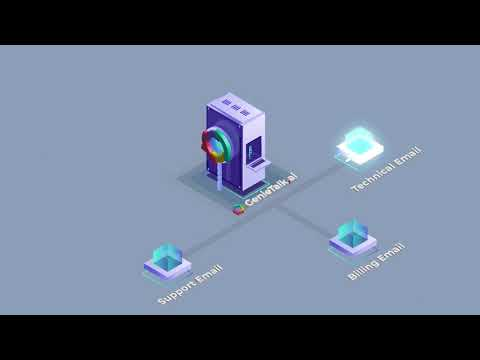 GenieTalk.ai CxAI Email Automation with Smart Agent Assist