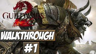 Guild Wars 2 Walkthrough Ep.1 w/Angel - Character Creation!