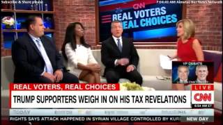 Trump supporters destroy CNN stooge Alisyn Camerota (even bring up Bill's black son)