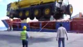Raw Video Crane Accident
