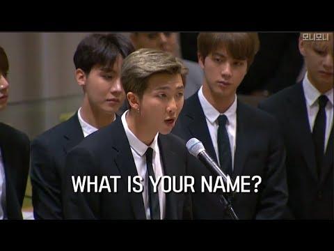 180924 방탄소년단 UN 유엔 연설 (자막.ver) BTS UN SPEECH
