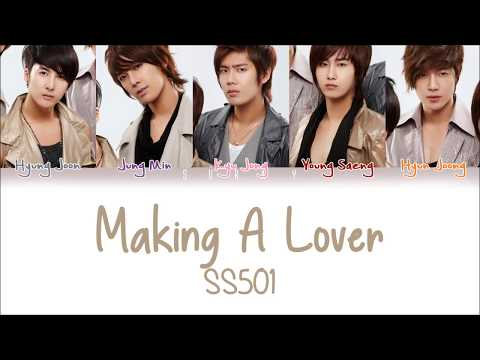 SS501 – Making A Lover (Han/Rom/Eng) Color Coded Lyrics