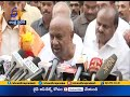 CM Chandrababu dons a new look; Deve Gowda speaks after meeting AP CM