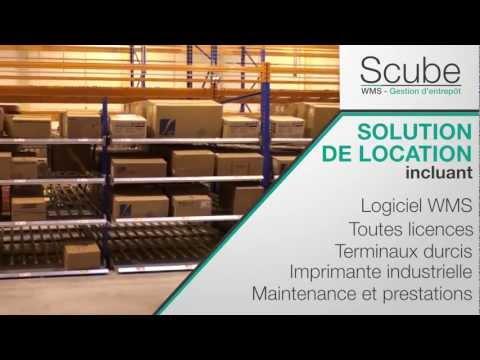 SCUBE WMS - Solution de gestion et optimisation de l'entrepôt mode locatif intégral