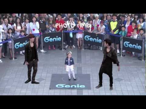 EXO-K _ AR SHOW with Genie(2012.05.12.) _ S04 'Dance with KAI & SEHUN' in Seoul, Korea