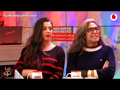 Mario y Marta Vaquerizo descubren los secretos del Bagdad #yuNoSéQuéDelFútbol