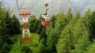 AULI, Uttarakhand | 'heaven' of skiing lovers | AULI ROPEWAY | Short trip | Adventure Travel vlog 12