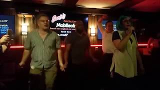 Tina Turner - Proud Mary Karaoke w/spontaneous backup dancers