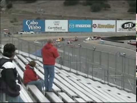 World Super Kart Laguna Seca 2004 Clip Video