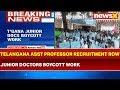 Telangana Assistant Professor Recruitment Row: Junior Doctors Boycott Work