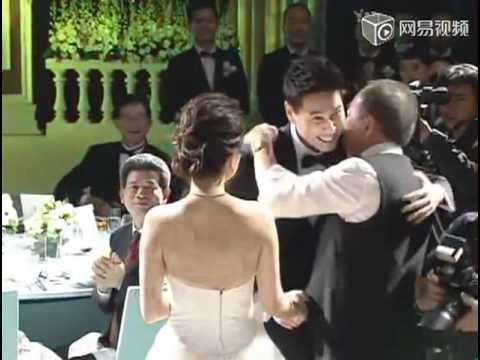 ELLA 大婚现场实况 婚礼伴郎伴娘新人进场 + 证婚.
