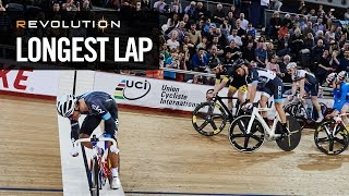 Clancy headbutts to victory in REVOLUTION Longest Lap