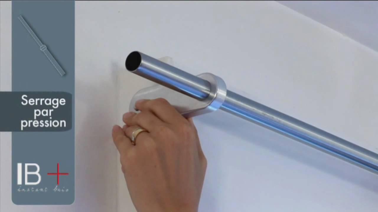 ridorail ib tringle rideau pour caisson de volet. Black Bedroom Furniture Sets. Home Design Ideas