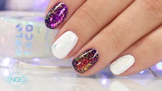 Suzie Tests Holo Taco Unicorn Skin on Natural Nails