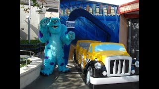 Monsters, inc. Mike & Sulley To The Rescue! Full Ride @ Disneyland 2017