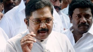 TTV Dhinakaran booked on sedition charges..