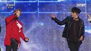 《HOT》 IKON - LOVE SCENARIO at K-Pop World Festa #PyeongChang2018
