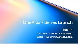 OnePlus 7 Pro Lauch Event Live  Banglore India #Oneplus7
