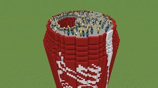 So I Trapped 100 Kids in Coca Cola in Minecraft…