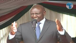 Deputy President William Ruto's speech at the launch of Kisii Hospital Project
