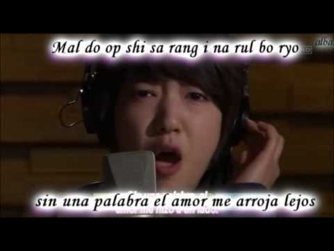 park shin hye without words sub español