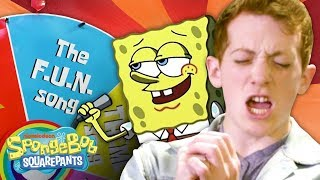 Wheel of SpongeBob Song Impressions 🎤 w/ the Cast of SpongeBob the Musical!