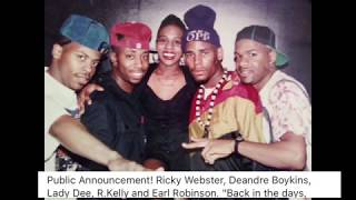 EXCLUSIVE: Public Announcement EXPOSES Sparkle, R.Kelly, Aaliyah, Andrea Kelly + MORE