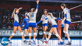 First day of the 2019 NCAA women's volleyball tournament