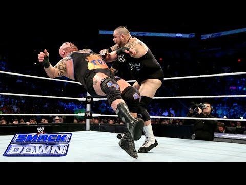 Tensai Vs. Brodus Clay: SmackDown, Dec. 20, 2013 - Smashpipe Sports