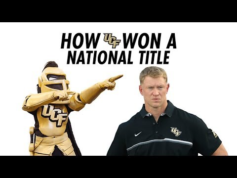 How UCF Won A National Championship