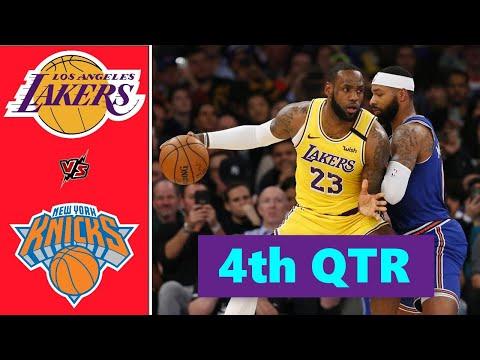 Los Angeles Lakers vs. New York Knicks Full Highlights 4th Quarter | NBA Season 2021
