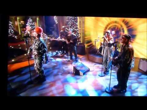 Boy George on the Paul O Grady Show performing Bigger than War