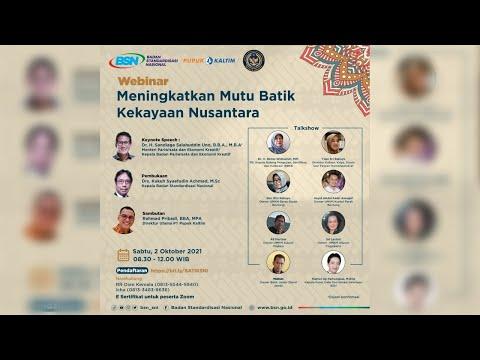 https://www.youtube.com/watch?v=sVkIrcooIdAMeningkatkan Mutu Batik Kekayaan Nusantara