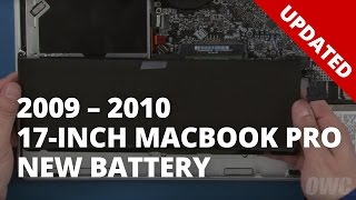 How to Upgrade/Replace the Battery in a 17-inch MacBook Pro 2009 – 2010 (Updated)