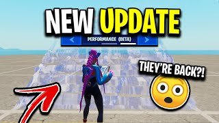 Bubble Wrap Builds Are BACK?! (NEW Performance Mode Update)