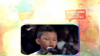"The Voice Kids Philippines 2015 Blind Audition  ""Thinking Out Loud"" By Gian"