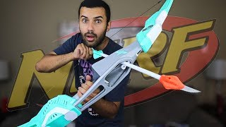 MOST DANGEROUS NERF MOD OF ALL TIME!!! DUDE PERFECT EDITION!!! *IMPOSSIBLE TRICKSHOTS*