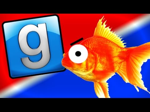 HILARIOUS GMOD PROP HUNT! Gold Fish, Hidden Objects, and More! (Funny Moments) - videogames  - sVufwP9QrKM -