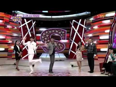 2pm nichkhun and minho cute dancing