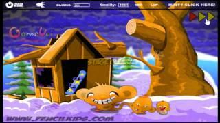 Hướng dẫn chơi game Chú khỉ buồn 2 - MONKEY GO HAPPY 2