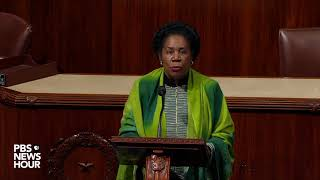 WATCH: Rep. Sheila Jackson Lee reads Rep. John Conyers' departure letter