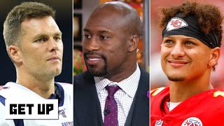 Vernon Davis talks Tom Brady's free agency and Patrick Mahomes' contract extension   Get Up