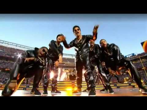 【傑作】ライブなのに安定感やばい!! スーパーボウル ハーフタイムショー Bruno Mars & Beyonce抜粋バージョン  2016