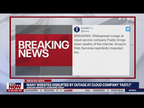 'Fastly' failure: Major internet outage impacts websites worldwide | NewsNOW from FOX