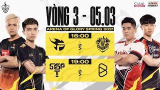 FL vs CES | BOX vs SGP - Vòng 3 ngày 2 | ĐTDV mùa Xuân 2021