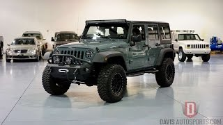 Davis AutoSports 2014 Anvil Jeep Wrangler JK Unlimited for sale / LIFTED & MODDED